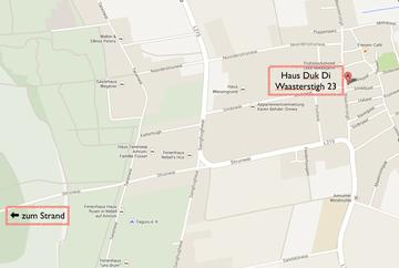 Google Maps Ausschnitt: Lageplan des Duk Di in Nebel